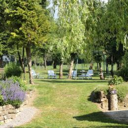 Jardin - - Gîte le Champ Hêtre - Location de vacances - Le Clerjus