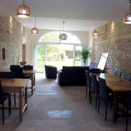 Le Faing du Bray - la grande salle commune - Chambre d'hôtes - Plombières-les-Bains
