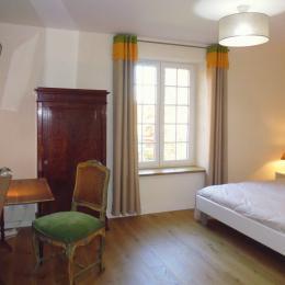 Le Feigne Canard - la chambre vue de l'entrée - Chambre d'hôtes - Plombières-les-Bains