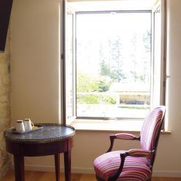 Le Feigne Hardi - vue sur le clos - Chambre d'hôtes - Plombières-les-Bains