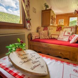 La cheminée, - Location de vacances - Xonrupt-Longemer
