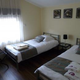Gîtes de l'Alise - chambre 3 - Sud - Location de vacances - Gérardmer