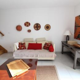 Maison de village proche Vittel et Contrexéville - Salon - Location de vacances - Dombrot-le-Sec
