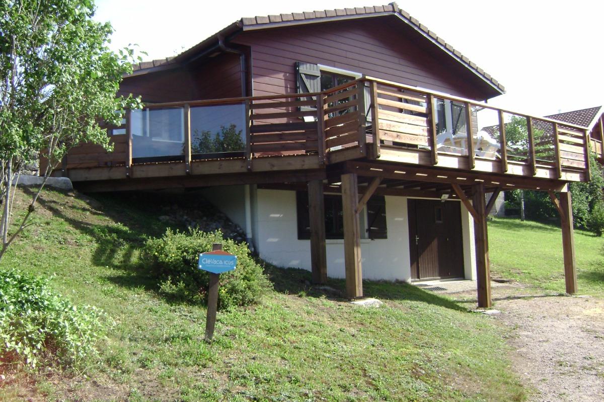 grande terrasse. - Location de vacances - Gérardmer