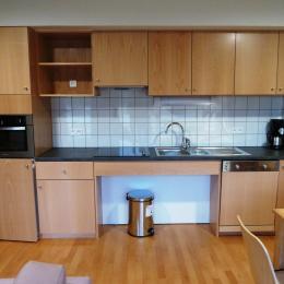 Les Woodies Le Chalot - Cuisine ouverte - Location de vacances - Xertigny