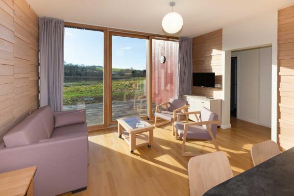 Woodies - gîte Rechentreux - espace salon - Location de vacances - Xertigny