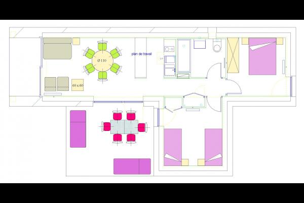 Woodies - Pergis - espace salon - Location de vacances - Xertigny
