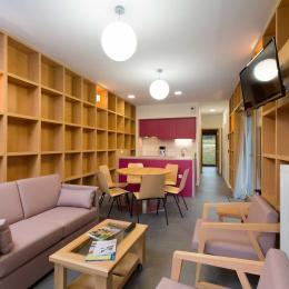 Woodies - Gîte Rochère - Coin Salon - Location de vacances - Xertigny