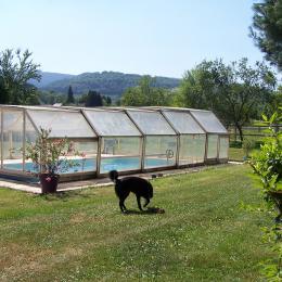 Piscine couverte commune - Gîte de Ban - Location de vacances - Ban-de-Laveline