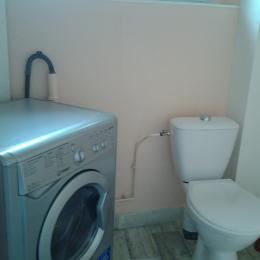 WC indépendant et lave-linge privatif - Location de vacances - Bains-les-Bains