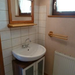 Salle de bains - Location La Petite Raon - Location de vacances - La Petite-Raon