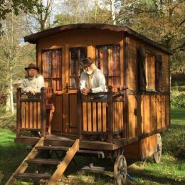 Esprit bohème - Roulotte - Camping du Mettey - Location de vacances - Vagney