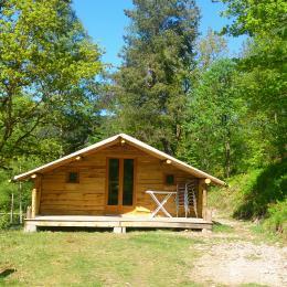 Cabane du Trappeur - Camping du Mettey Vagney - Location de vacances - Vagney