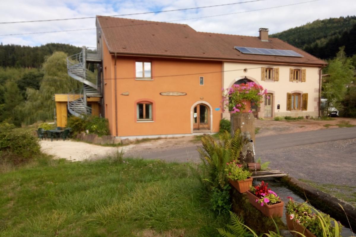 Salle de jeux / salon - Ecogite Saint Prayel Moyenmoutier - Location de vacances - Moyenmoutier