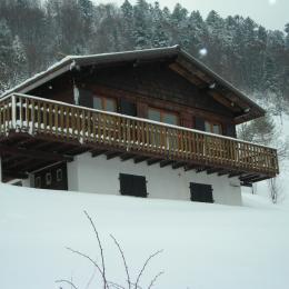 Chalet à flanc de coteau, bien exposé, proche pistes La Bresse-Hohneck  - Location de vacances - La Bresse