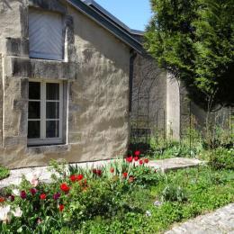 Gîte Bévau entre Neufchâteau (Vosges) et Joinville (Haute-Marne) - Salle à manger - Location de vacances - Trampot