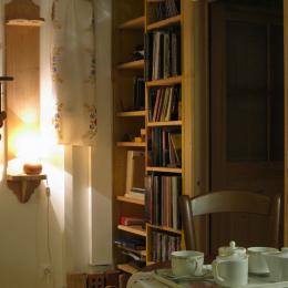 Gîte Bévau - Salon - Location de vacances - Trampot