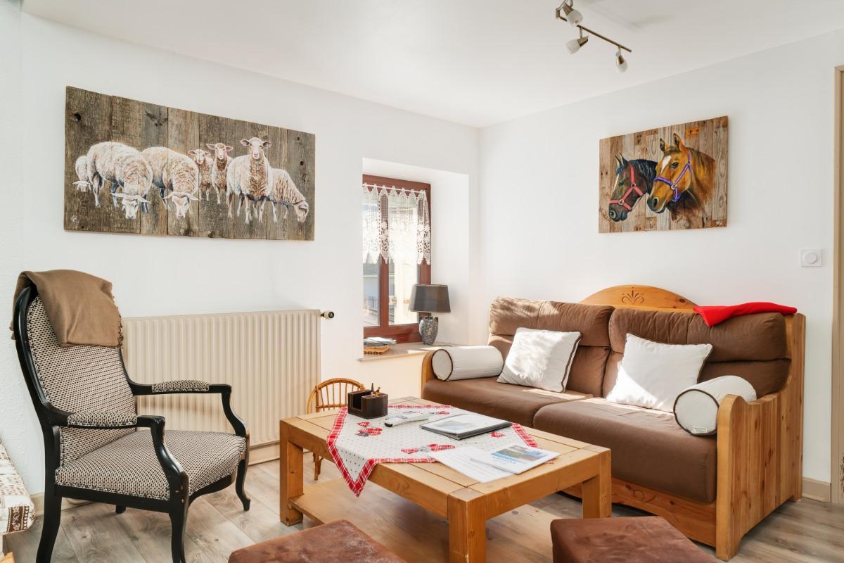 Salon - Duplex Gérardmer centre - Location de vacances - Gérardmer