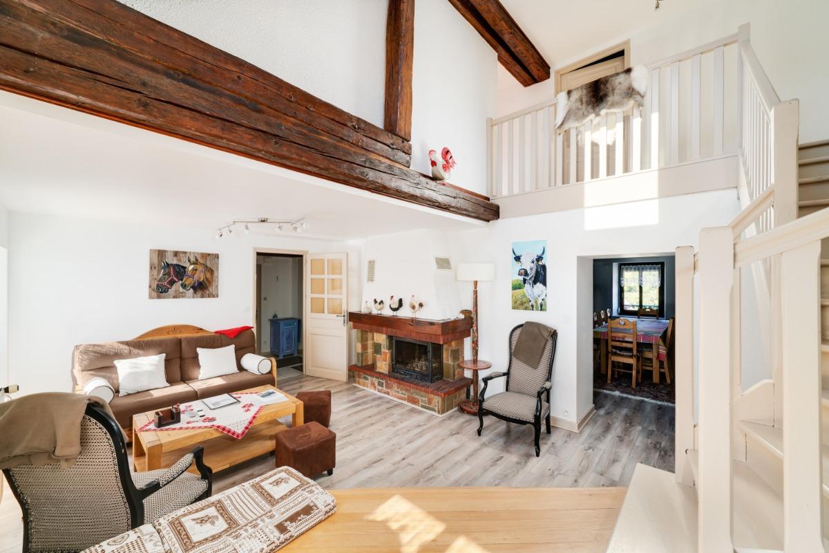 Grand séjour - Duplex Gérardmer centre - Location de vacances - Gérardmer