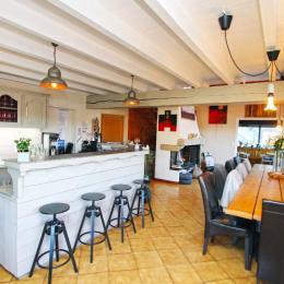 La table de petit-déjeuner - Chambre d'hôtes - Ban-sur-Meurthe