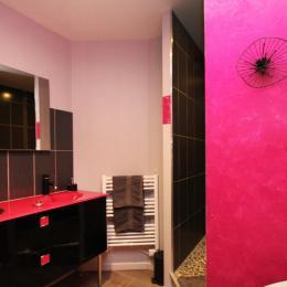 La salle d'eau - Chambre d'hôtes - Ban-sur-Meurthe