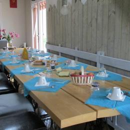 Le petit-déjeuner - Chambre d'hôtes - Ban-sur-Meurthe