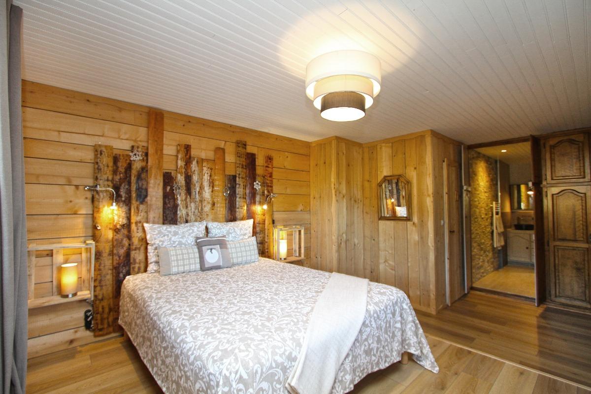 La chambre Chalet - Chambre d'hôtes - Ban-sur-Meurthe