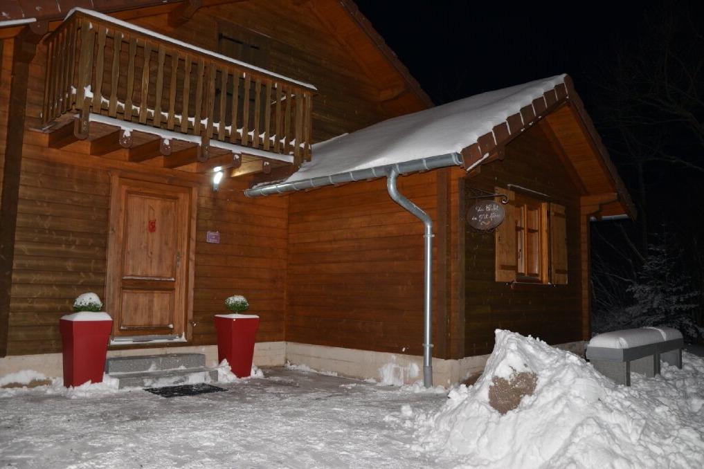 Chalet sous la neige  - Location de vacances - Anould