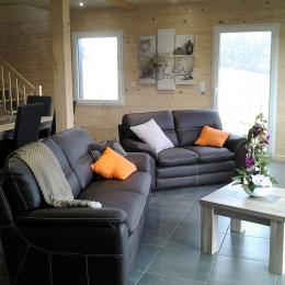 Chalet Au Pied du Kemberg - Salon - Vosges - Location de vacances - Saulcy-sur-Meurthe