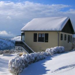 La maison sous la neige - Location de vacances - La Bresse