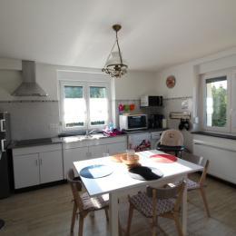 coin cuisine - Location de vacances - Le Syndicat