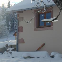 ambiance hivernale - Location de vacances - Tendon