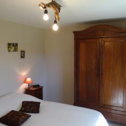 la chambre du RDC- Vosges - Location de vacances - Tendon