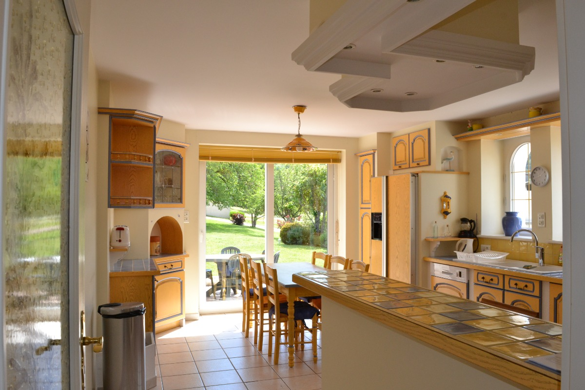 La cuisine - Location de vacances - Saint-Étienne-lès-Remiremont
