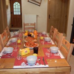 Salle à manger - Location de vacances - La Bresse