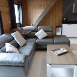 Espace salon - Chalet les 4 vents Gérardmer - Location de vacances - Gérardmer