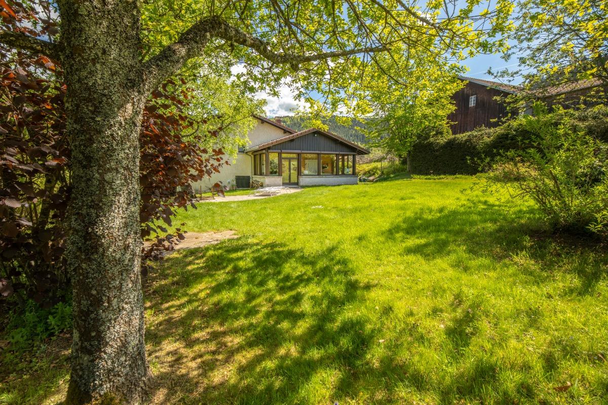 l'accès de la propriété, le carport et l'entrée, - Location de vacances - Xonrupt-Longemer