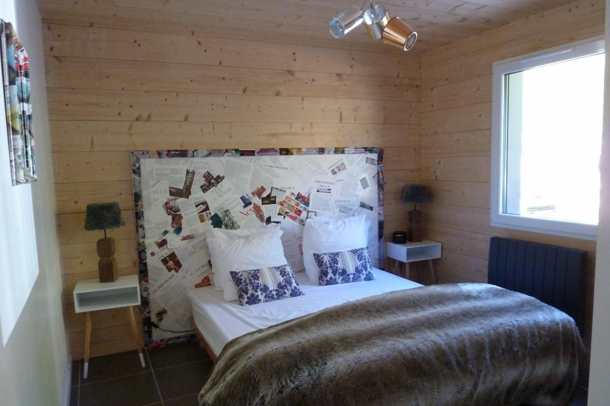 Chambre - Chalet les Biches - Gérardmer Vosges - Location de vacances - Gérardmer