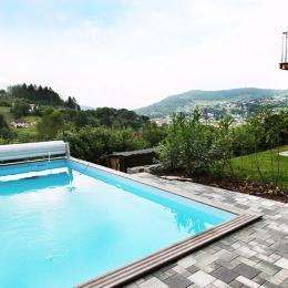 Piscine extérieure - Chalet les Biches Isabella - Gérardmer Vosges - Location de vacances - Gérardmer