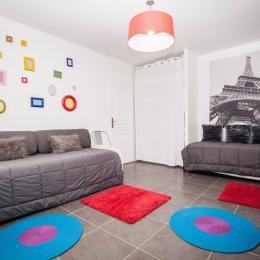 Chambre enfant - Chalet les Biches Isabella - Gérardmer Vosges - Location de vacances - Gérardmer