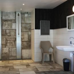 les douches côté piscine - Location de vacances - Gérardmer