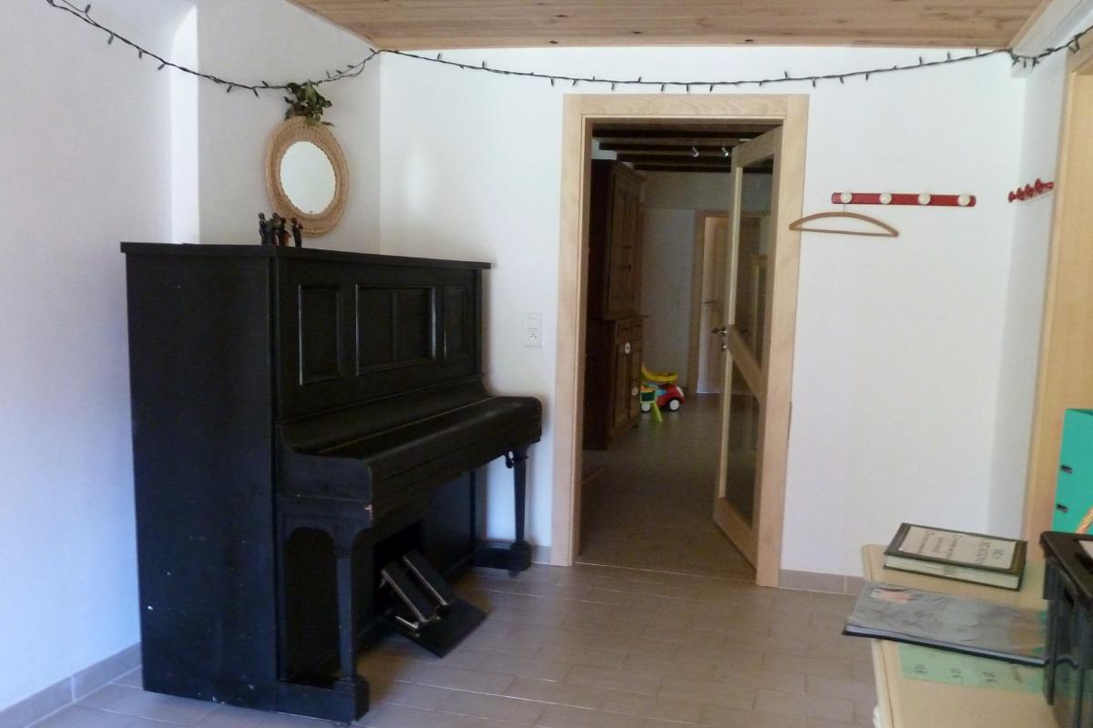 Entrée - Gîte familial Scaravella Rouge-Gazon - Vosges - Location de vacances - Saint-Maurice-sur-Moselle