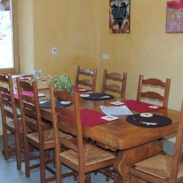 Cuisine - Gîte familial Scaravella Rouge-Gazon - Vosges - Location de vacances - Saint-Maurice-sur-Moselle