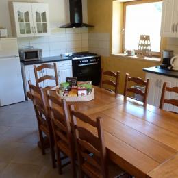 Cuisine indépendante - Gîte familial Scaravella Rouge-Gazon - Vosges - Location de vacances - Saint-Maurice-sur-Moselle
