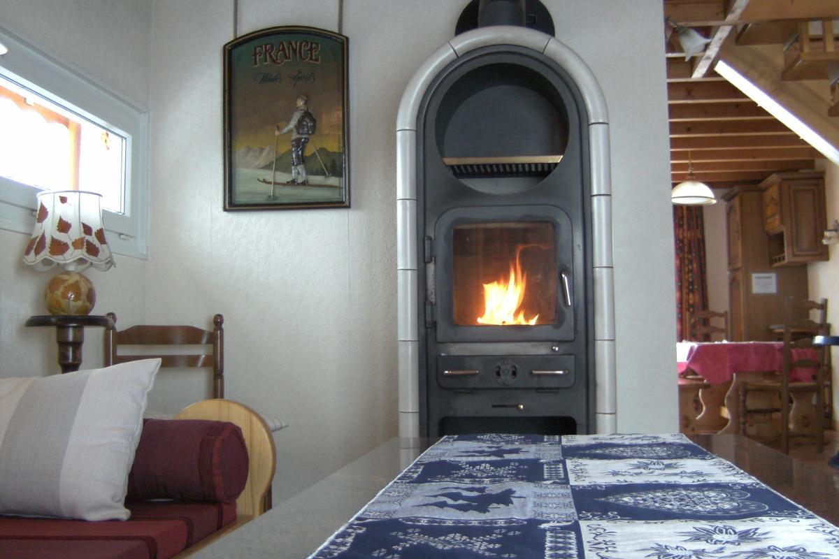 Le poêle à bois - Location de vacances - Le Tholy