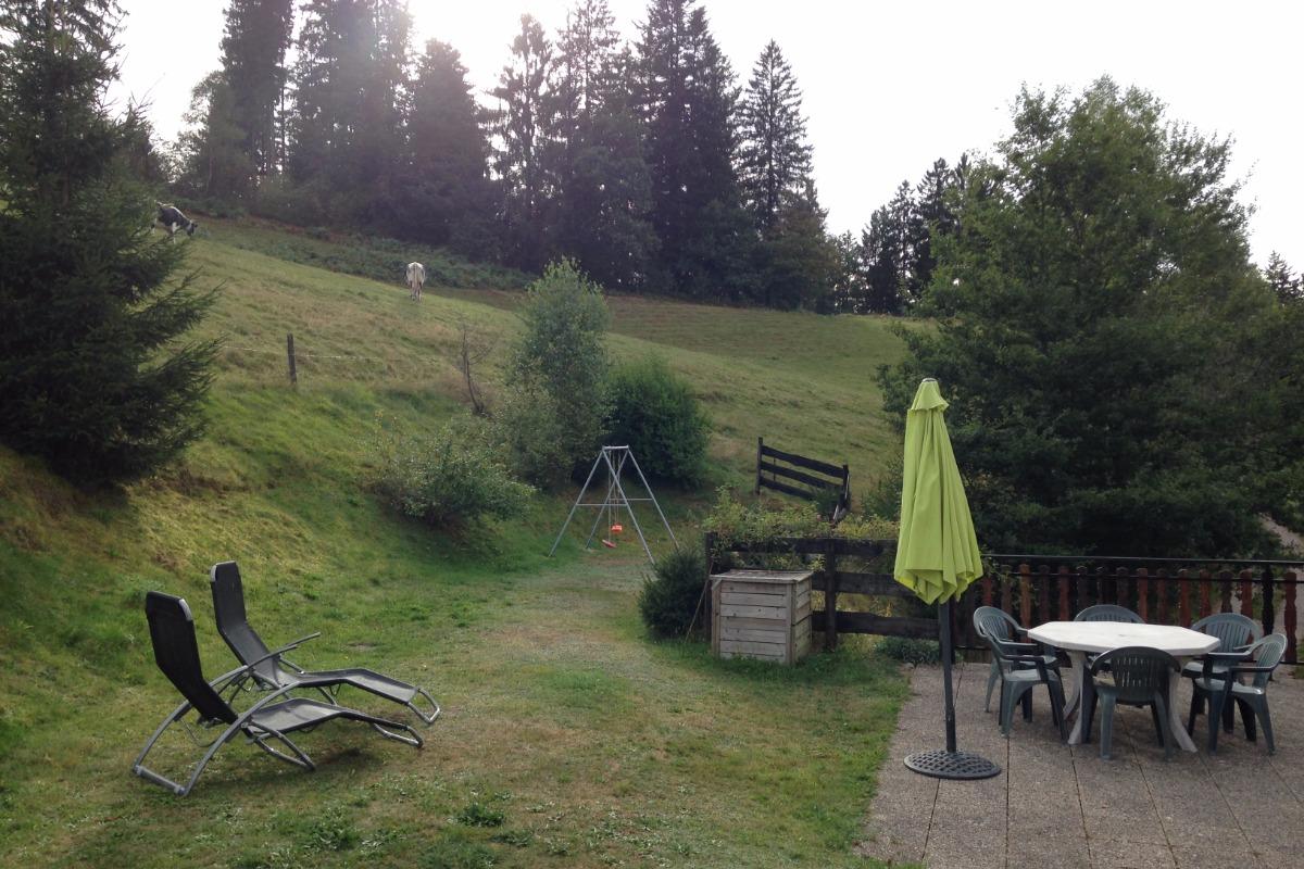 La terrasse - Location de vacances - Le Tholy