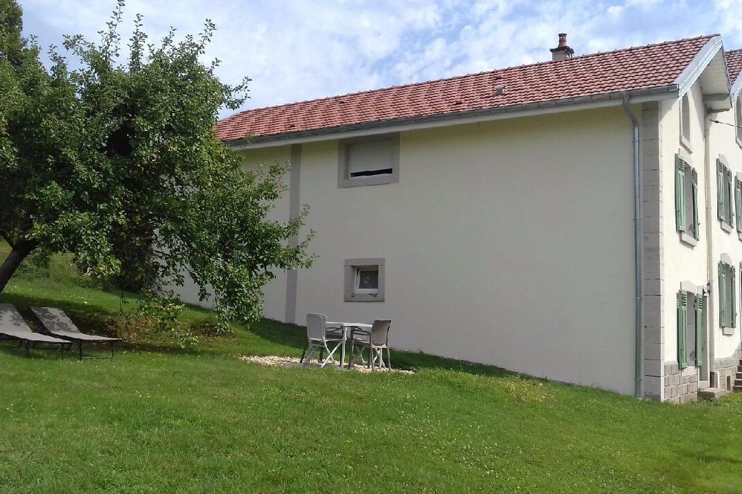 le jardin - Location de vacances - Bains-les-Bains