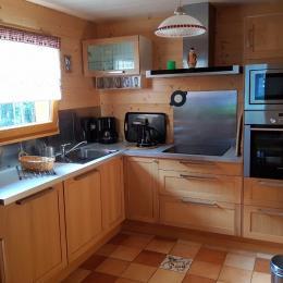 La cuisine - Location de vacances - Xonrupt-Longemer
