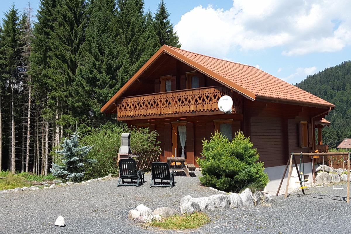 sous la neige - Location de vacances - Xonrupt-Longemer