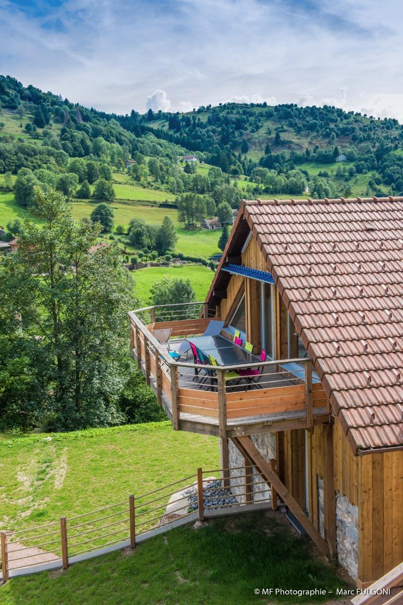 La terrasse suspendue - Location de vacances - La Bresse
